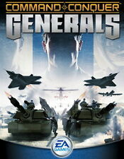 Command & and Conquer Generals PC 2 CDs for XP with unused new code
