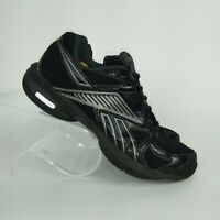 Reebok women's simply tone black and silver size 7.5 athletic shoes 11-J20613