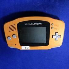b033 Nintendo Gameboy Advance console Orange GBA Japan x Express