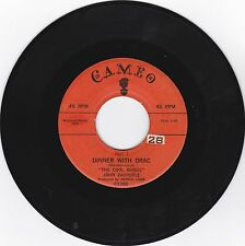 JOHN ZACHERLE THE COOL GHOUL-CAMEO 1340 HORROR ROCK 45 DINNER WITH DRAC  VG++