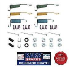 FORD XR XT XW XY ZA XB ZC ZD REAR DRUM BRAKES SPRING AND CLIP SET GS GT FALCON