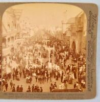 Stereoview Underwood Pike From Galveston Flood Exhibit St Louis Worlds Fair (O)