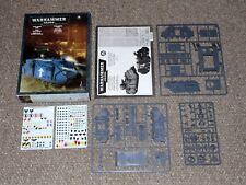 2007 Games Workshop Warhammer 40K Space Marine Rhino New in Box Unassembled