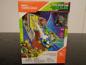 MEGA CONSTRUX Leo Sewer Skate Teenage Mutant Ninja Turtles 48 PC DYK10