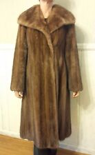 Genuine Vintage Full Length Mink Fur Coat