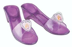 FANCY DRESS ACCESSORY ~ GIRLS DISNEY PRINCESS RAPUNZEL JELLY SHOES