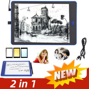 Pro LCD Writing Tablet LED Digital Drawing Pad Memo Message Boards Kid