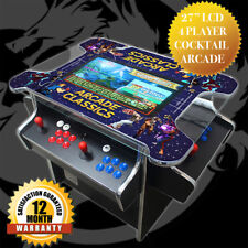 """27"""" 4 Player Full Size Cocktail Arcade Cabinet - Games Console - BRAND NEW"""