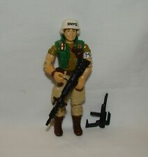 New listing Vintage G.I. Joe (1990) Sonic Fighters Law ~ w/Weapons ~ Very Nice ~ Hasbro Guns