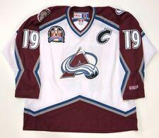 JOE SAKIC 1996 STANLEY CUP CCM NHL WHITE COLORADO AVALANCHE JERSEY XX-LARGE