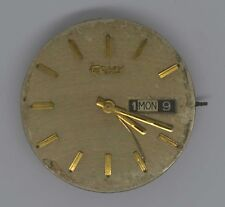 VTG CAMY Time Square 61 Movt & Dial. Cal: ETA F3-2879. -Parts Or Repairs