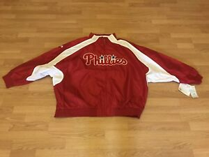 Philadelphia Phillies MLB Majestic Men's 4XL Jacket Coat NWT