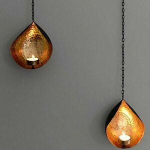 Metal Wall Sconces Tealight Candle Holder Wall Hanging - 2   FREE SHIPPNG