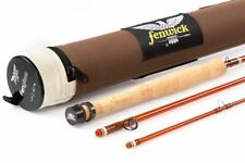 "NEW $220 FENWICK FENGLASS 7'6"" #5 WT 3 PC FIBERGLASS FLY ROD + TUBE--CLOSEOUT!"