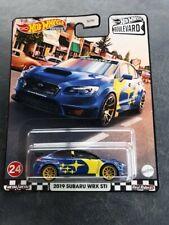 3 X Hot Wheels Premium Boulevard 2019 Subaru WRX STI #24