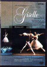 DVD Adolphe ADAM: GISELLE Bolshoi Ballet GRIGOROVICH Bessmertnova Zhuraitis 1990