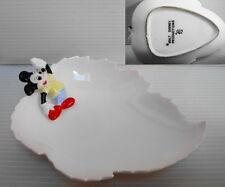 Coupelle porcelaine ceramic Mickey walt disney production signée FG vintage