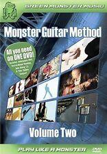 Monster Guitar Method - Vol. 2 Beginner/Novice (DVD, 2005, Bonus Jam Along CD P…