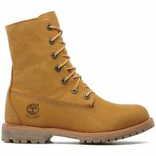 Timberland Authentic Teddy Fleece WP Wheat Womens BOOTS - 8329r W UK 6.5