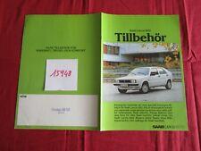 N°15948 : SAAB LANCIA 600 Tlllbehor catalogue suédois / sverige text