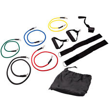 11pcs/Set Pull Rope Exercise Resistance Bands set Home Gym Equipment Fitnes