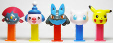 Pokemon 3 Mini Pez Set Of 5 From Japan - 19Th Of 49- From 10/2005- Mib W/Inserts