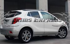 2013-2017 Buick Encore 6Pc Chrome Pillar Post Stainless Steel