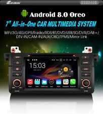 "RADIO DVD 7"" BMW SERIE 3 E46  M3  Z3 - ANDROID 8 BLUETOOTH,GPS,USB,3G"