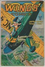 Wings Comics #76 G/VG 3.0 VERY NICE EYE APPEAL FOR GRADE !