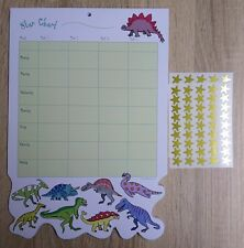 Padblock Dinosaur Star Chart A4 Pad Behaviour Reward Potty Toilet Training Child