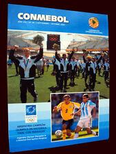 SOCCER ARGENTINA OLYMPIC CHAMPION 2004 CONMEBOL # 86 AMERICA CUP BRAZIL CHAMPION