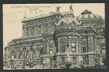 Paris  L'Opéra vu de la rue Scribe