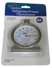 Refrigerator, Freezer, Thermometer, Stainless Steel Construction, Nsf Listed