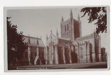 Hereford Cathedral From NE 1912 RP Postcard 301a