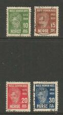Norway 1929 Niels Henrik Abel/Mathematician--Attractive Topical (145-48) used