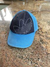 Adidas Mens Medium Navy Blue Baseball Cap Hat