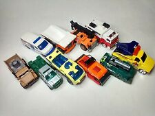 Matchbox Lot of 10 Cars Construction Vehicles And Work Trucks Diecast