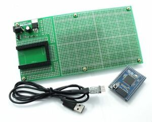 DIY PCB Breadboard Double Side Prototype 4.096V Reference Mega mini 2560 UC-2102