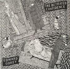 Edward Gorey *The Betrayed Confidence*Ltd Ed w/loose plate -BOTH SIGNED BY GOREY