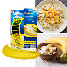 CookArt Banana Slicer Chopper Cutter Fruit Salad Vegetable Kitchen Tool Peeler