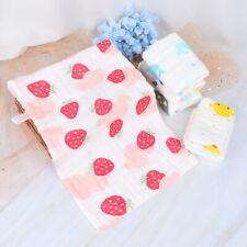 Baby Towel Cotton 6 layers Newborn Cartoon Face Hand Bathing Bibs Handkerchief H