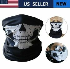 2Pack Multi-use Biker Balaclava Bandana Tube Scarf Headband Cycling Face Mask