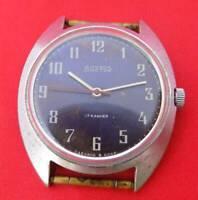 VOSTOK BOCTOK Original vintage men wrist watch 17 jewels Soviet Russian serviced