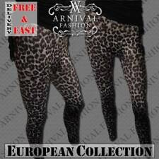 Polyester Regular Size Leggings for Women