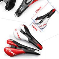 Comfort Carbon Fiber Road Bike Saddle Mountain Bicycle Cycling Seat Cushion Pad