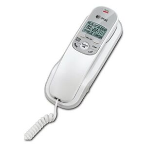ATT TR1909 Corded Standard Phone With Caller ID Desk And Wall Mount Telephone