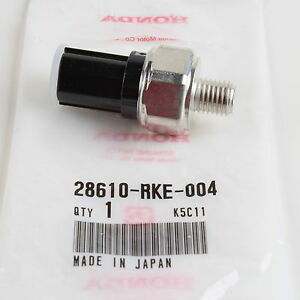 Genuine Honda/Acura AT Oil Pressure Switch Assmbly 28610-RKE-004, 28610-RAY-013