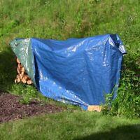 Sunnydaze 9 x 12' Reversible Waterproof Multi Purpose Poly Tarp - Blue & Green