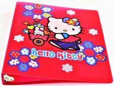 HELLO KITTY 3 RING BINDER | FLOWER POWER | Free shipping