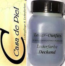 CDP NAPPALEDER Lederfarbe Glattleder Leder färben 1ltr -1000ml - Grau Hellgrau